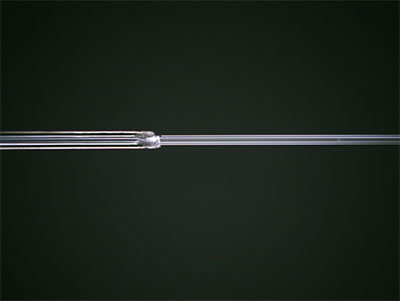Hard Polymer Coated Fiber