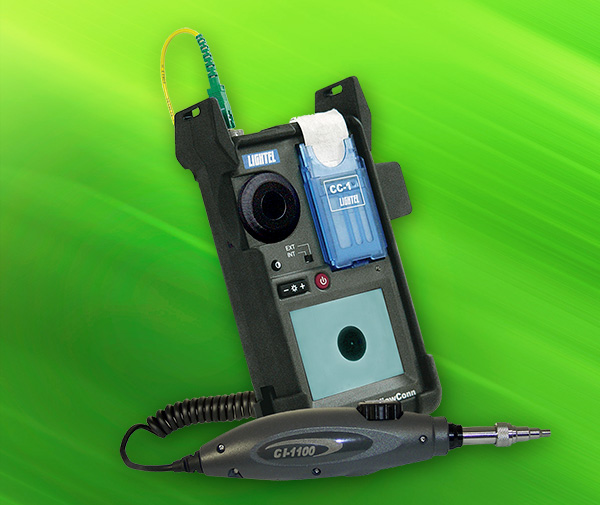 ViewConn Plus fiber optic inspection scope